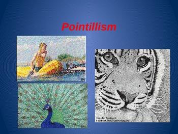 Pointillism slideshow
