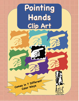 Pointing Hands Clip Art