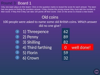 Pointless - General Knowledge