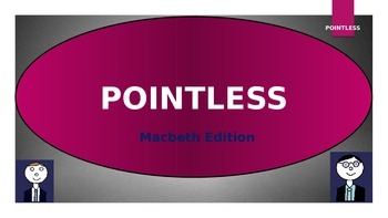 Pointless - Macbeth Edition!