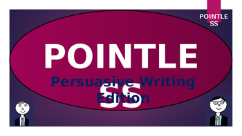 Pointless - Persuasive Writing Edition!