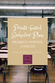 Points Based Behavior Plan