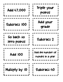 It's the Points!! (A simple game for any subject/age)