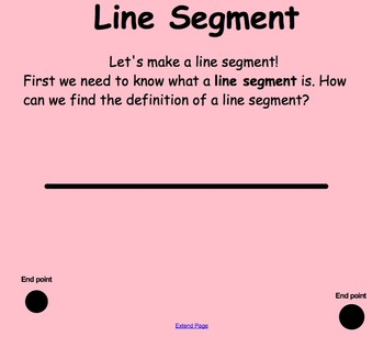 Points, Line Segments, Lines & Rays  4.G.A.1