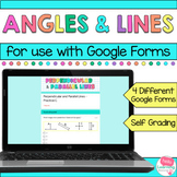 Points, Lines, Line Segments, Rays and Angles for Google Forms™