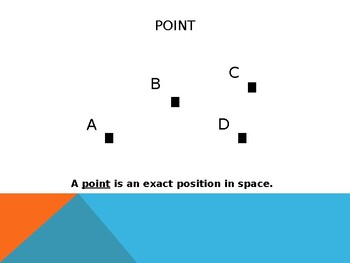Points, Lines, Line Segments, and Rays Powerpoint