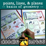 Points, Lines, & Planes Doodle Notes