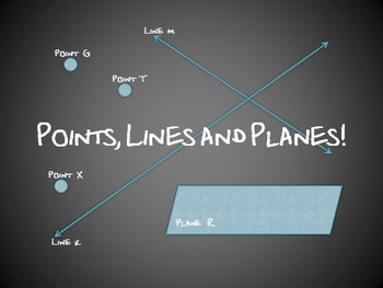 Points, Lines & Planes PPT