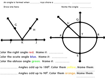 Points, Lines, Planes, Segments, and Rays