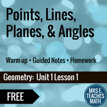 Points Lines Planes Worksheets Worksheets for all | Download and ...