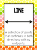 Points, Lines, Rays, & Angles Posters