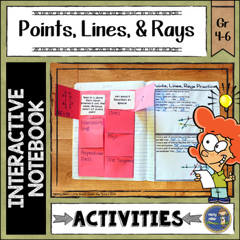 Points Lines Rays Interactive Notebook