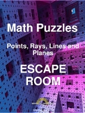 Points, Lines, Rays and Planes Escape Room