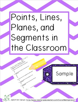 Points, Lines, Segments, and Planes