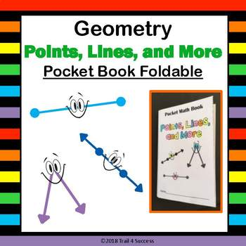 Points, Lines, and More - Geometry Pocket Mini Math Book Foldable