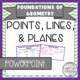 Points, Lines, and Planes Powerpoint/Keynote Presentation
