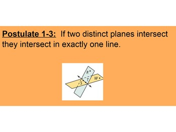 Points, Lines, and Planes SmartBoard Mini Lesson