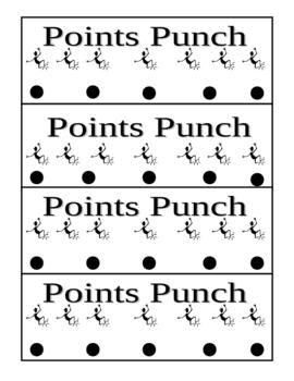 Points Punch Behavioral Motivator