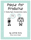 Points for Products - A Double-Digit Multiplication Game