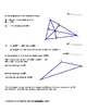 Points of Concurency in a Traingle, Midsegments, Segment Addition Postulate