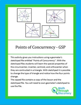 Points of Concurrency - GSP