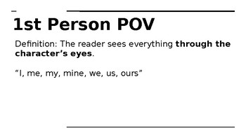 Points of View Power Point