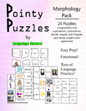 Pointy Puzzles for Language - Morphology Pack
