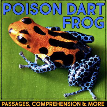 Poison Dart Frog: Informational Article, QR Code Research & Fact Sort