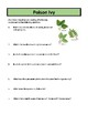 Poison Ivy - Reading Comprehension and Substitute Plan