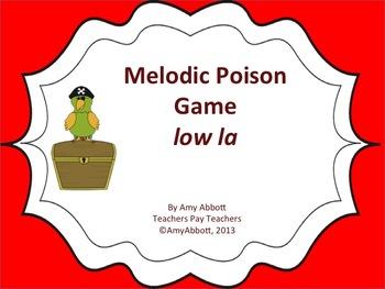 Poison Melody Game: low la