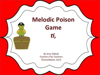 Poison Melody Game: ti
