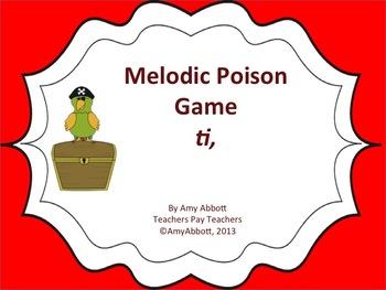 Poison Melody Game: ti