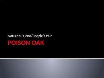 Poison Oak Identification Slides with Video