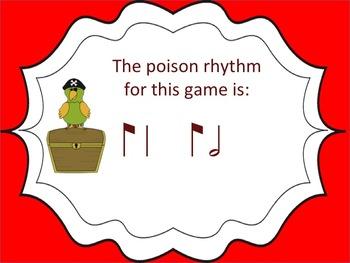 Poison Rhythm Game: syncopa