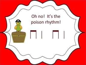 Poison Rhythm Game: ta ti-ti