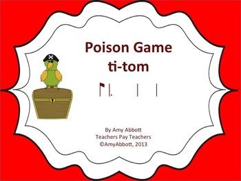 Poison Rhythm Game: ti-tom