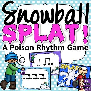 Snowball Splat - A Poison Rhythm Game