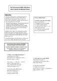Poisonwood Bible Adah's Emily Dickinson Poems Activity/Handout