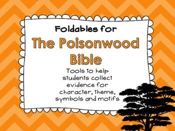 The Poisonwood Bible Foldables: Organizing Character, Theme, Symbol & Motif