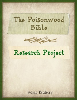 Poisonwood Bible Research Project