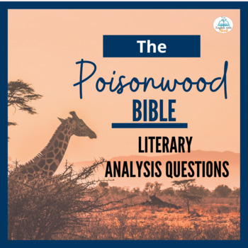 Poisonwood Bible Study Guide Discussion Questions