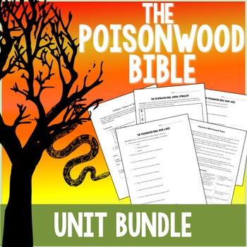 The Poisonwood Bible Unit Plan Bundle