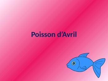 Poisson d'Avril Powerpoint
