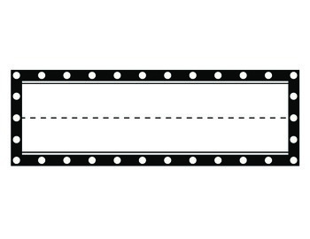 Poka Dot Wall Labels