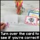 Poke Card BUNDLE: Beginning Sounds, Missing Vowels, Ending Sounds, Color Words