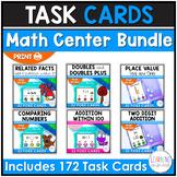 Poke Card Math Center Bundle