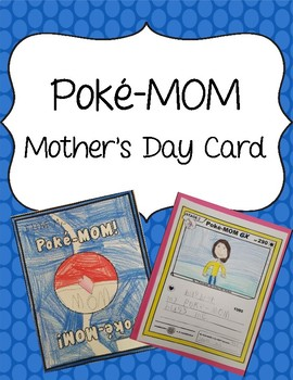 Poke-MOM Card for Mother's Day