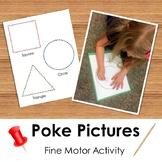 Poke Picture: Fine Motor Activity