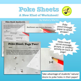 Poke Sheet: Beethoven (Poke Holes Through Your Paper...On