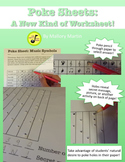 Poke Sheet: Music Symbols (Poke Holes Through Your Paper..